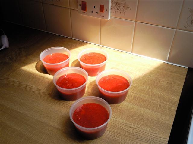 Fruits of our labour - Strawberry jam