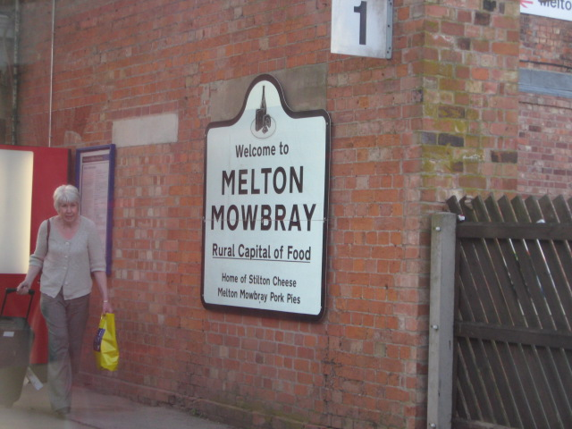 Melton Mowbray with the imposter