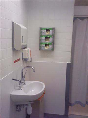 Cubicle basin